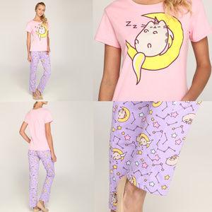 Unicorn Meowgical Pusheen Cat Pajamas Sleep Set XL